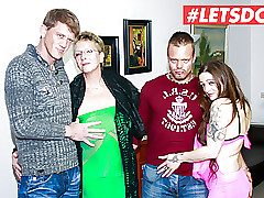 LETSDOEIT - Hot German Foursome..