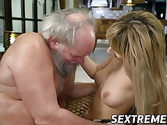 Young pussy fucked at the end..