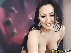 Cute Asian GF Strips increased..