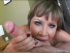 Katie St Ives Enjoys Sucking A..