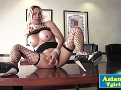 Glam asian tgirl Chloe London..