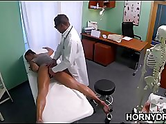 Czech MILF sucks hammer away..
