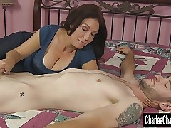 Lovely MILF Charlee Run after..