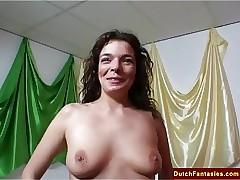 Dutch MILF Teaches Companions..