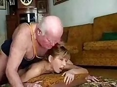 Grandpa Fucks His Teen Grumble..