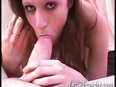 Blowjob with an increment of facial..