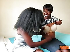 2 Sweltering African Lesbians..